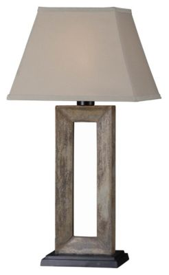 Egress 32'' Outdoor Table Lamp - Natural Slate