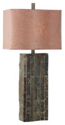 Ripple Slate Table Lamp