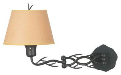 Twigs 1-Light Swing-Arm Wall Lamp - Bronze