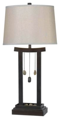 Chimes 31'' Table Lamp - Copper Bronze