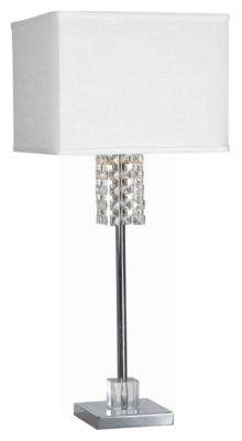 Bedazzle 31'' Table Lamp - Chrome