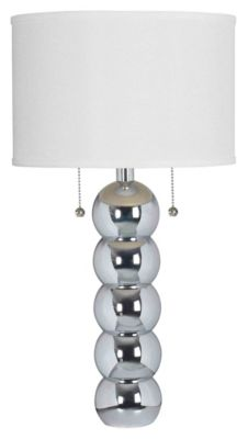 Bolero 29'' Table Lamp - Chrome