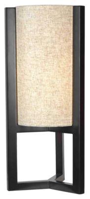 Teton 25'' Table Lamp - Madera Bronze