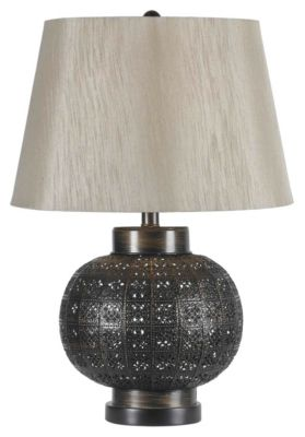 Seville 24'' Table Lamp - Aged Bronze