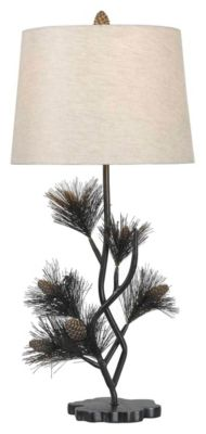Balsam 30'' Table Lamp - Aged Bronze