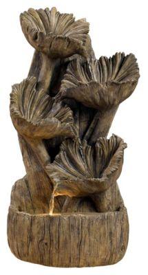 Indoor Wall/Table Fountain - Aged Wood