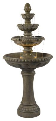 Rialto Outdoor Fountain - Tuscan Earth