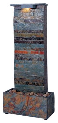 Curvature Indoor Table/Wall Fountain - Natural Slate