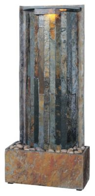 Waterwall Indoor Table/Wall Fountain - Natural Slate