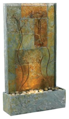 Copper Vines Indoor-Outdoor Floor Fountain
