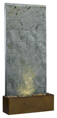 Brook Table/Wall Fountain - Natural Slate