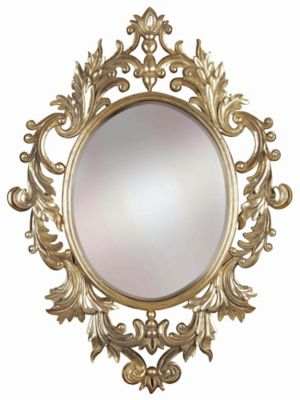 Louis Wall Mirror - Silver Leaf