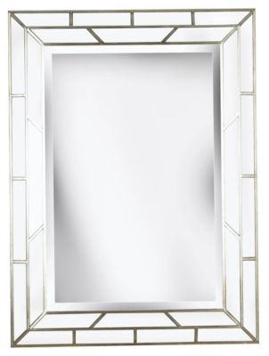 Lens Wall Mirror - Silver