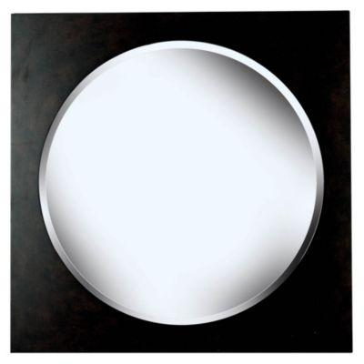 Eclipse Wall Mirror - Dark Walnut