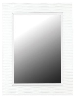 Kendrick Wall Mirror - Gloss White