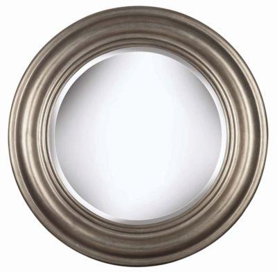 Nob Hill Wall Mirror - Antique Silver