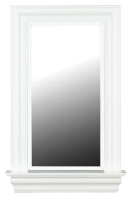 Juliet Wall Mirror - Gloss White