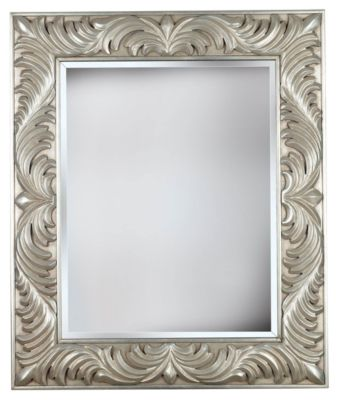 Antoinette Wall Mirror - Antique Silver