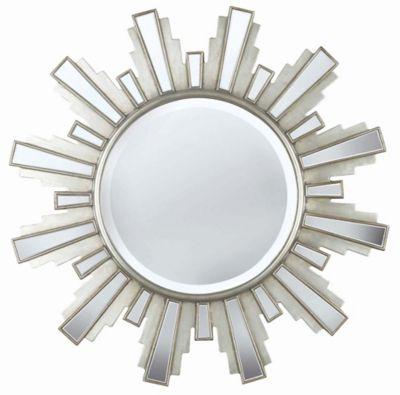 Francisco Wall Mirror - Antique Silver