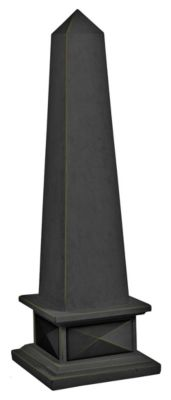 Garden Bronze Indoor/Outdoor Classic Obelisk Decorative Ornament - Bronze