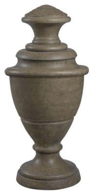 Tuscan Earth Indoor/Outdoor Wine Jar Decorative Ornament - Sandstone