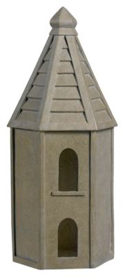 Tuscan Earth Indoor/Outdoor Bird House Decorative Ornament - Tuscan Earth