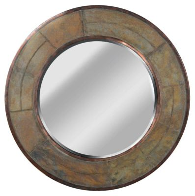 Keene Wall Mirror - Natural Slate