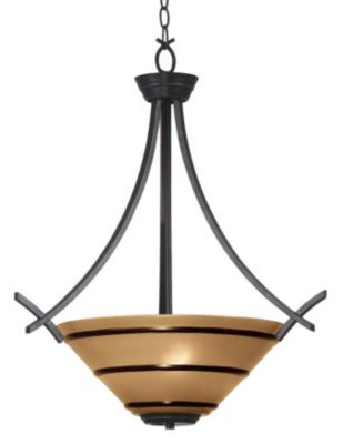 Wright 3-Light Pendant - Oil Rubbed Bronze