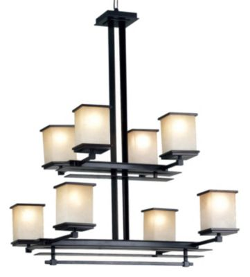 Plateau 8-Light Chandelier - Oil Rubbed Bronze