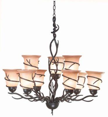 Twigs 9-Light Chandelier