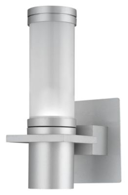 Cilindro 1-Light Bath/Wall Sconce - Silver