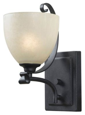 Willoughby 1-Light Wall Sconce - Forged Graphite