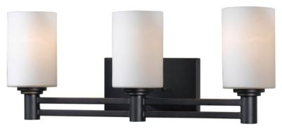 Slender 3-Light Vanity - Oil Rubbed Bronze