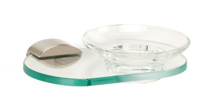 Contemporary III Soap Holder with Dish