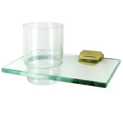Geometric Tumbler Holder with Tumbler