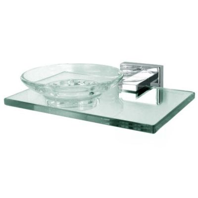 Contemporary II Soap Holder with Dish