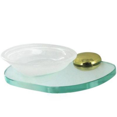 Aria Soap Dish with Holder