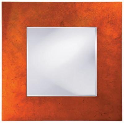 Kayla Orange Mirror