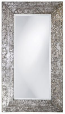 Napier Brushed Silver Mirror