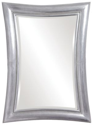 Fairmont Metallic Silver Mirror