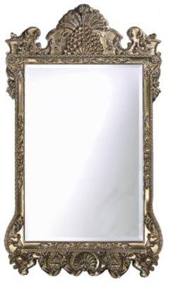 Marquette Antique Silver Mirror
