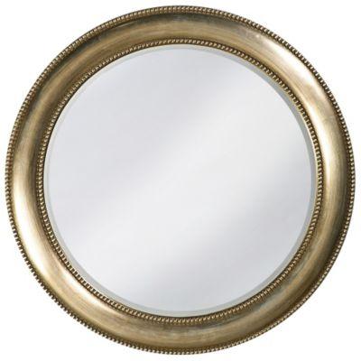 Saturn Burnished Silver Mirror