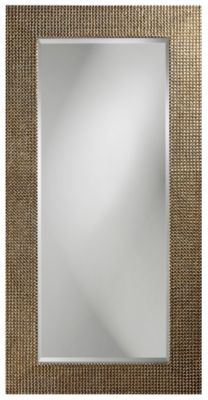 Lancelot Tall Silver Leaf Mirror