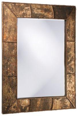 Aggawak Wood Mirror