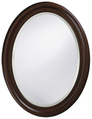 George Chocolate Brown Mirror