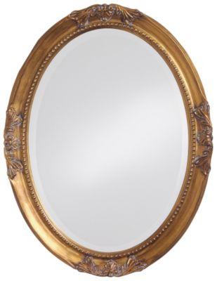 Queen Ann Antique Gold Mirror