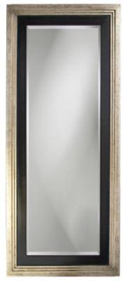 Dawson Silver & Black Leaner Mirror