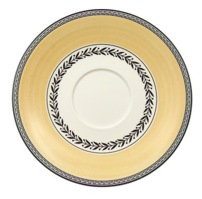 Audun Ferme Breakfast/Cream Soup Cup Saucer