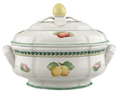 French Garden Fleurence Soup Tureen