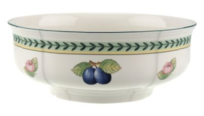 French Garden Fleurence Round Vegetable Bowl